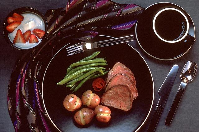 dělená strava recepty