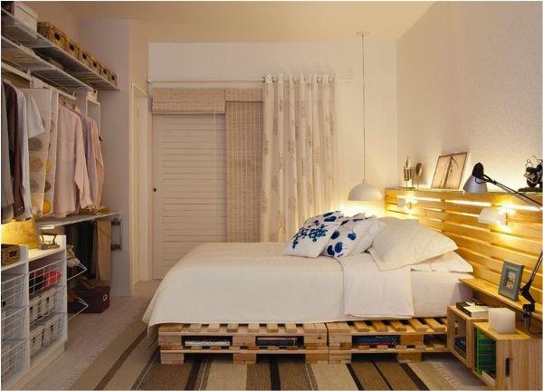 manželská postel z palet